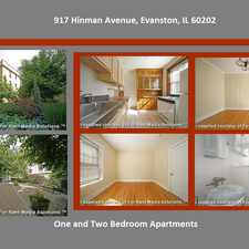 Rental info for Cagan Northside Chicago and Evanston Apartments