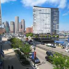 Rental info for 100 Pier 4 in the Boston area