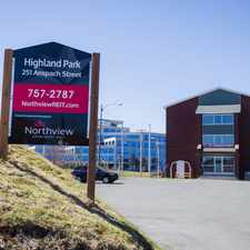 Rental info for Highland Park in the St. John's area