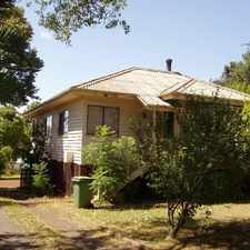 Rental info for Great Budget Home Close to The CBD! in the Toowoomba area