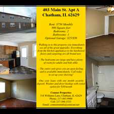Rental info for 403 South Main Street #D