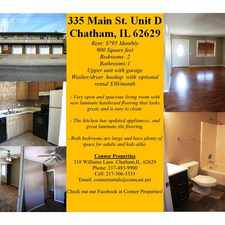 Rental info for 335 South Main Street #C