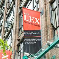 Rental info for The Lex in the Vancouver area