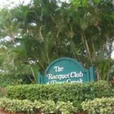 Rental info for Deer Creek Racquet Club in the Deerfield Beach area