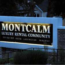 Rental info for Montcalm Apartments in the St. Paul area