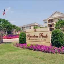 Rental info for Signature Park in the Bryan area