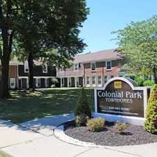 Rental info for Colonial Park Townhomes in the Euclid area