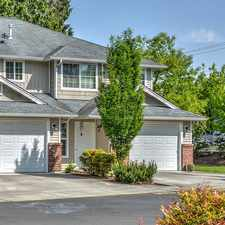Rental info for Townhomes at Mountain View - Sumner