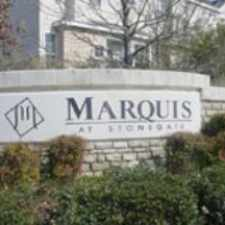 Rental info for Marquis at Stonegate in the Fort Worth area