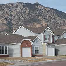 Rental info for Fort Carson Family Homes in the Colorado Springs area