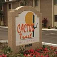 Rental info for Cactus Trail in the Phoenix area