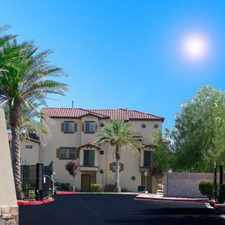 Rental info for Palmilla Townhomes in the North Las Vegas area