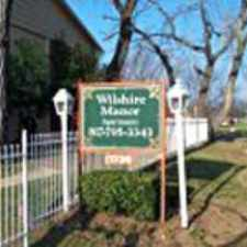 Rental info for Wilshire Manor in the Fort Worth area