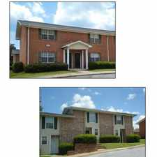 Rental info for ¦ Large Two and Three Bedroom Townhome Units with Washer/Dryer Connections¦ Located 5 Miles North of Hartsfield-Jackson Atlanta International Airport¦ Minutes South of Downtown Atlanta¦ Close Proximity and Easy Access to I-75 and I-85 in the Atlanta area