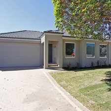 Rental info for Applications pending - no more home opens in the Nollamara area