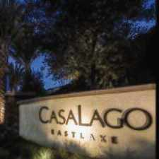 Rental info for CasaLago Eastlake in the San Diego area