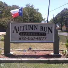 Rental info for Autumn Run Apts