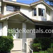 Rental info for Beautiful Townhouse for Rent in the Olde Torrance area