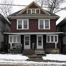 Rental info for Spacious 3 bedroom, 1 bath duplex unit in Dayton Public School District. Kitchen includes fridge and range. Washer and dryer included. Unfinished basement. Window a/c. Tenant pays all utilities. No pets. Section 8 ok. Call Daniel 937 347 3306 in the Burkhardt area