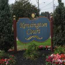 Rental info for Kensington Court
