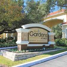 Rental info for Gardens at West