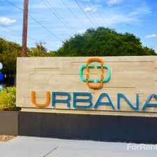 Rental info for Urbana in the San Antonio area