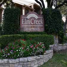 Rental info for Woods of Elm Creek
