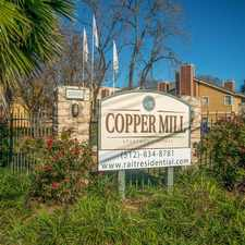Rental info for Copper Mill