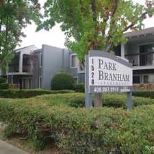 Rental info for Park Branham in the San Jose area