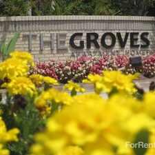 Rental info for Groves