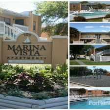 Rental info for Marina Vista