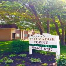 Rental info for Tallmadge Towne Apts.