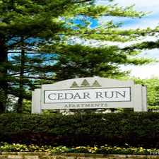 Rental info for Cedar Run Apartments