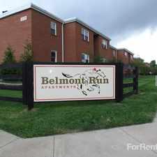Rental info for Belmont Run