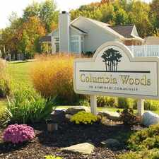 Rental info for Columbia Woods