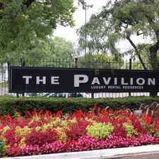 Rental info for The Pavilion in the Detroit area
