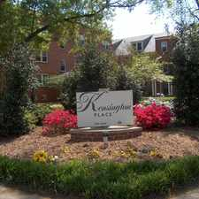 Rental info for Kensington Place and Patterson Place