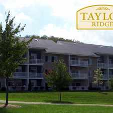 Rental info for Taylor Ridge Apartments