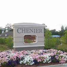 Rental info for Chenier Apartments