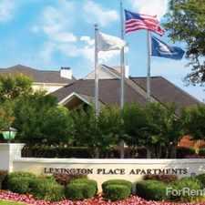 Rental info for Lexington Place