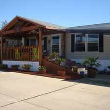 Rental info for Lexington Place Manufactured Home Park in the Fort Worth area