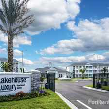 Rental info for Lakehouse Luxury Apartments