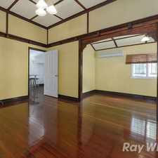Rental info for Position Plus! Period features with perfect aspect - Available Now in the Ashgrove area