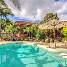 Rental info for Beautiful Living .... Fabulous Pool..... in the Perth area