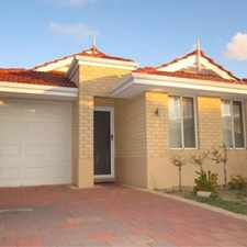 Rental info for Easy Care, Low Maintenance in the Canning Vale area