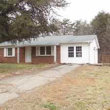 Rental info for 3 Bedroom Rockingham County Ranch! FIRST MONTH FREE!