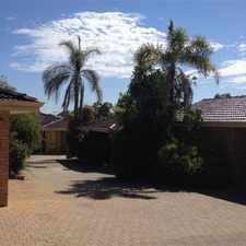 Rental info for GREAT LOCATION CLOSE TO VICTORIA PARK in the Perth area