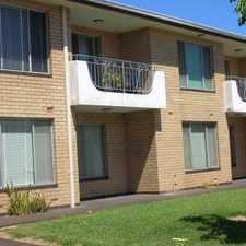 Rental info for 2 bedroom apartment in quiet complex.