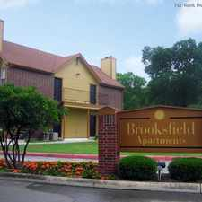 Rental info for Brooksfield in the San Antonio area