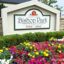 Rental info for Bishop Park